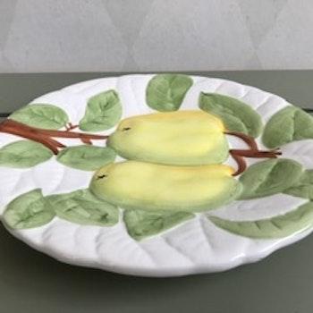 Majolika fat - päron