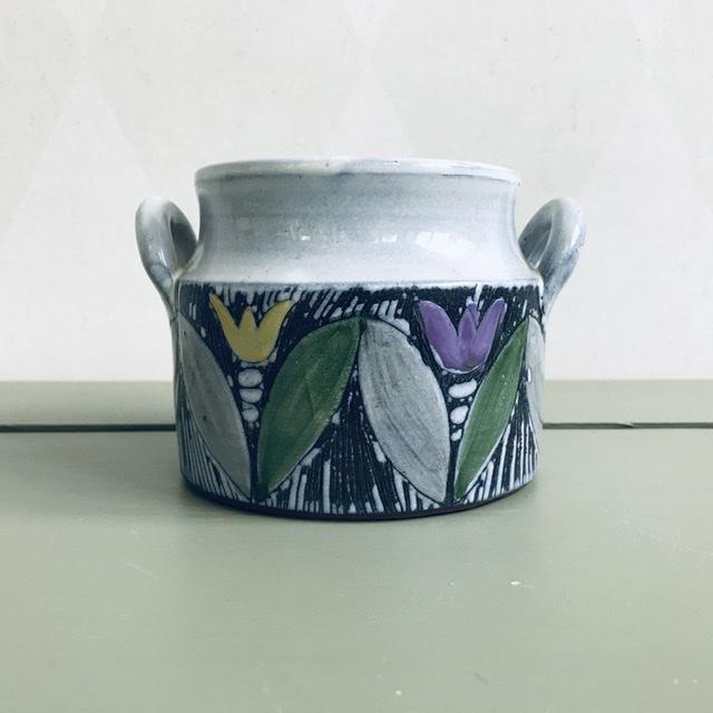 Skål/ ytterfoder - Laholm keramik