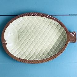 Fiskfat vit / brun - Höganäs