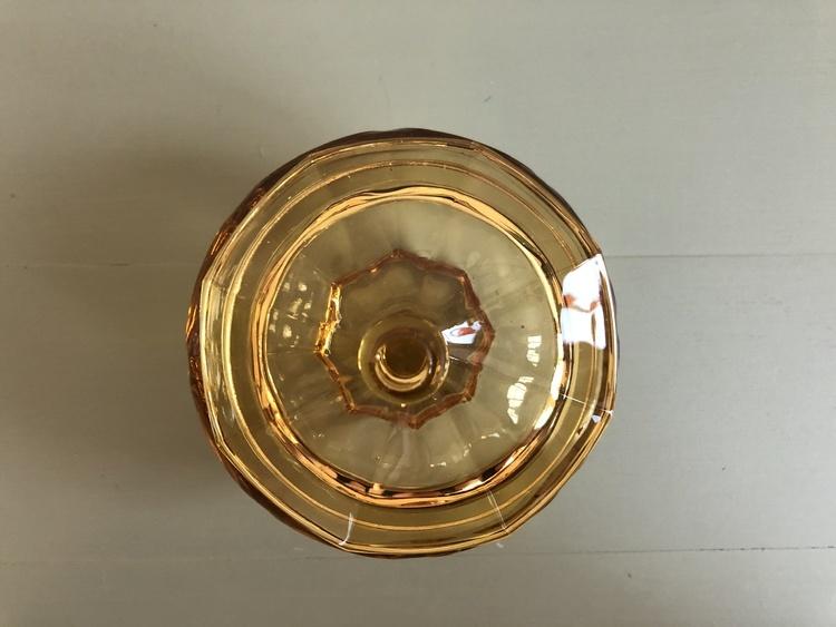 Lockburk i gult glas