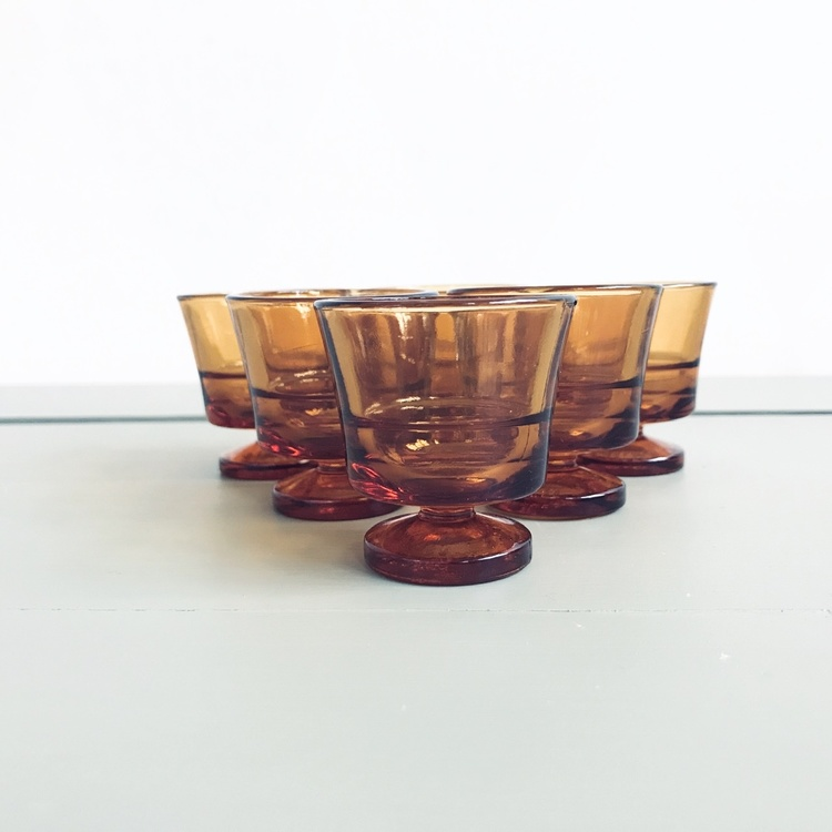 Äggkopp i glas - Duralex, Frankrike