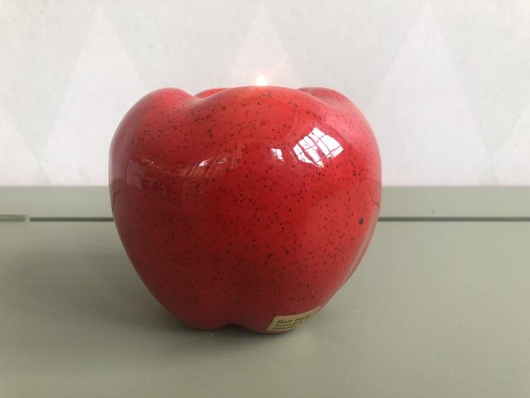 Ljuslykta - äpple, Rolf Berg