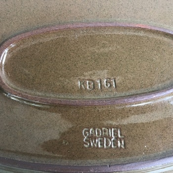 Uppläggningsfat - Gabriel Keramik