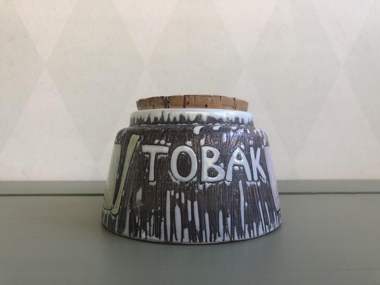 Burk i keramik - Laholm