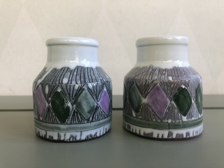 Små burkar - Laholms keramik