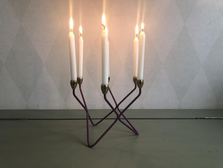 Ljusstake - 6 ljus