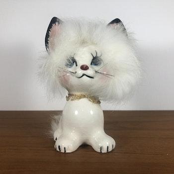 Katt i porslin