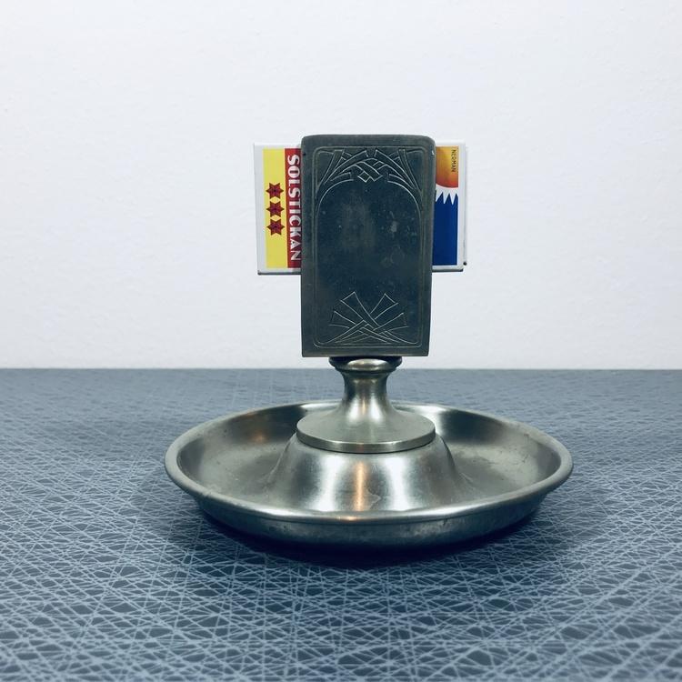 Tändstickshållare - Tenn