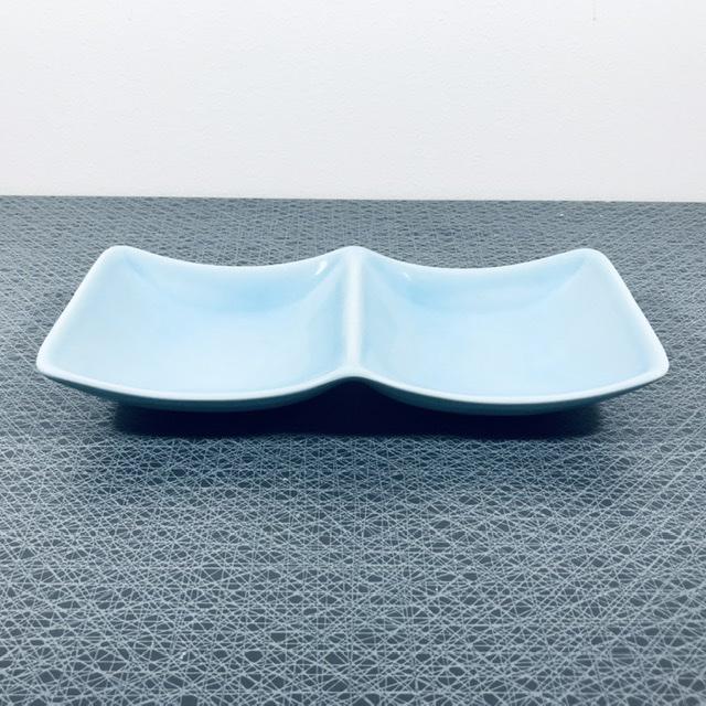 """Ugnsform / uppläggningsfat, ljusblått """"My Garden"""" - Marianne Westman, Rörstrand"""