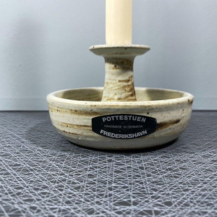 Ljusstake, keramik - Pottestuen, Danmark