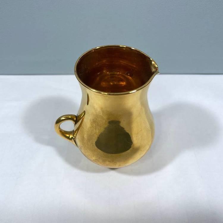 Liten guldkanna/ vas - Sea glasbruk