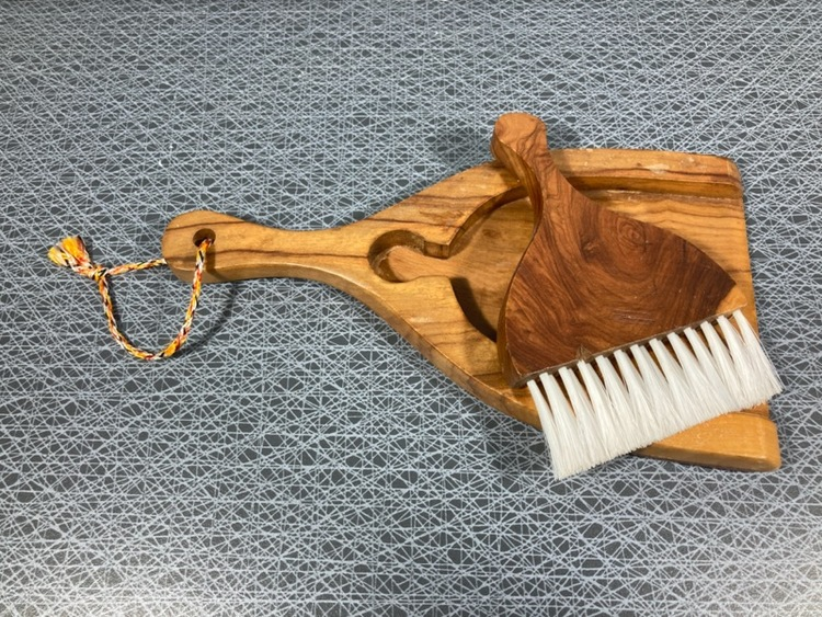 Bordsborste, trä (jakaranda)