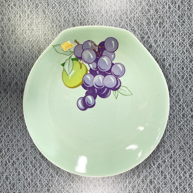 Assiett- Figgjo Flint, Norge vindruvor