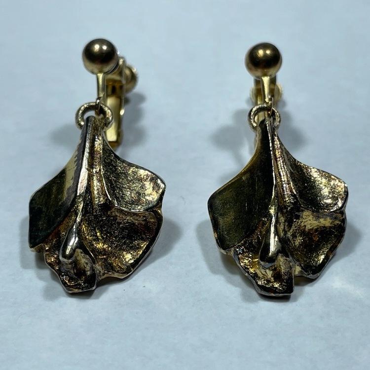 Vintage örhängen, förgyllda - Börje Tennung par