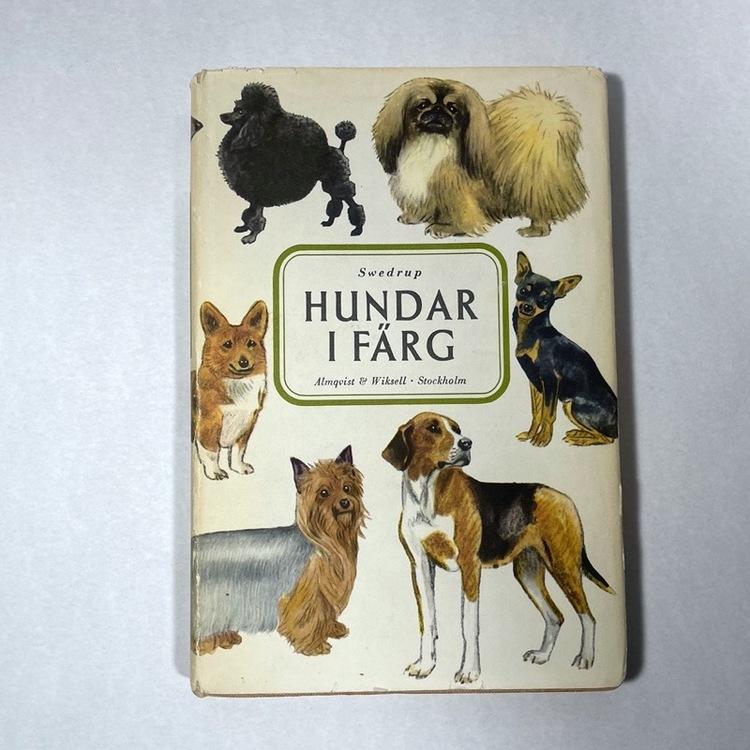 Bok, hundar i Färg - 1958 framsida
