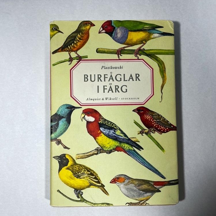 Bok, Burfåglar i färg - 1964 framsida