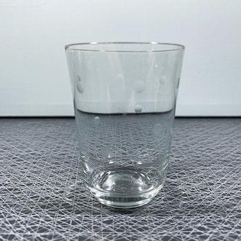 Mindre glas med prickar - Sea glasbruk, Kosta