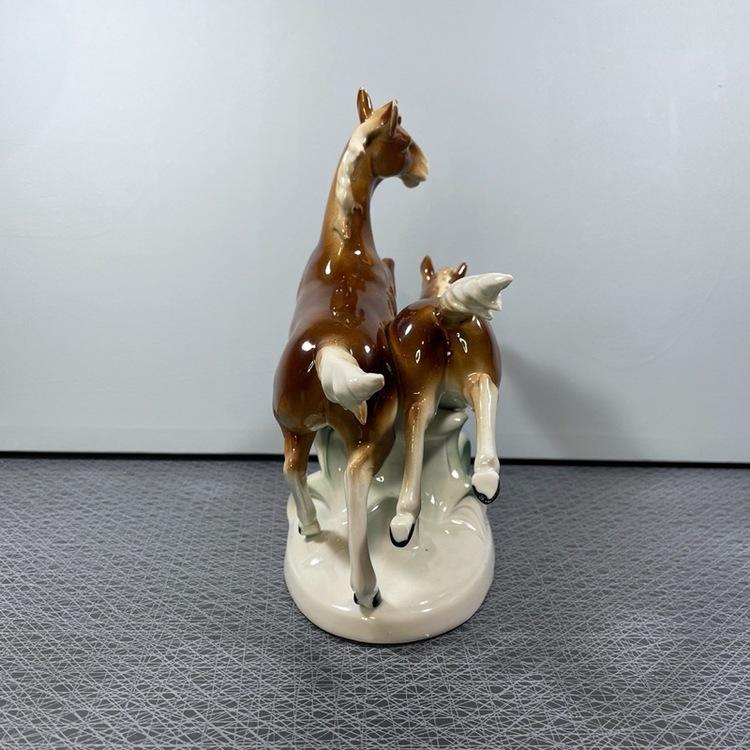 Hästfigurine, porslin no 12256