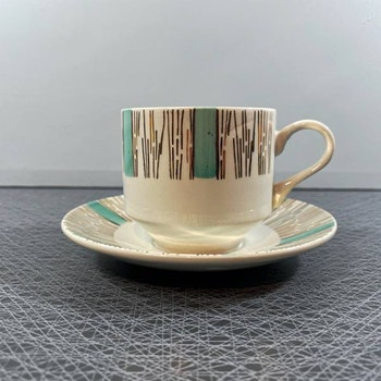 Kaffekopp på fot - Broadhurst, England