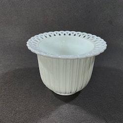 Ytterfoder - vitt opalglas