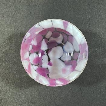Glasskål - Skruf glasbruk