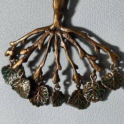 Vintage halsband i brons