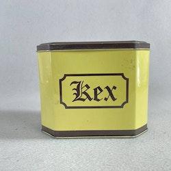 Plåtburk Kex