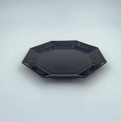 Assiett, svart porslin - Luminarc