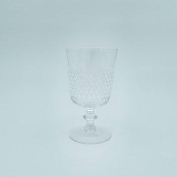 Vitvinsglas, Diamant - Vicke Lindstrand, Kosta Boda
