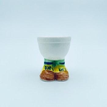 Retro äggkopp, äldre - Porslin