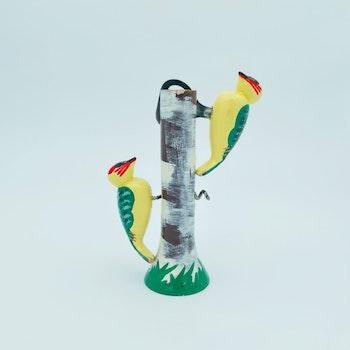 Fåglar på träd - korkskruv och flasköppnare