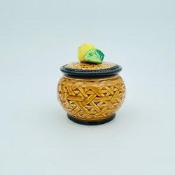 Lockburk i keramik med päron