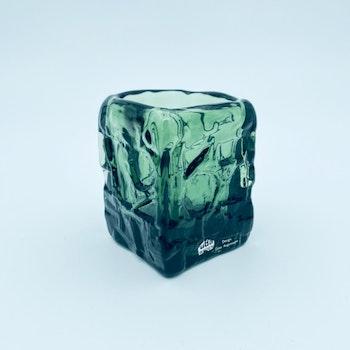 Tung mindre glasvas - Göte Augustsson, Ruda glasbruk