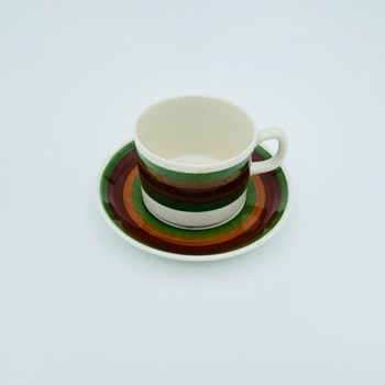 Kaffekopp med fat - Olli, Gefle