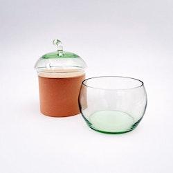 Lockburk - glasäpple