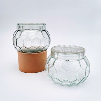 Honungsburk - lockburk, glaslock