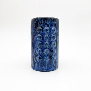 Blå vas i keramik - JIE