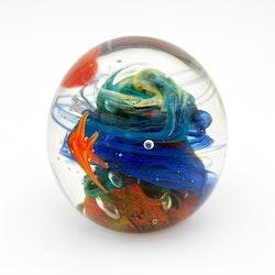 Brevpress Murano - guldfiskar