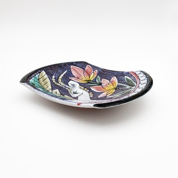 Tallrik/ väggtallrik - Dagny Petrusson, Tilgmans keramik