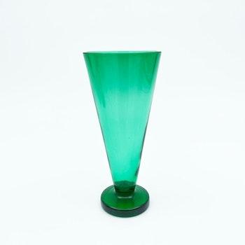 Gröna glaspokaler - Reijmyre glasbruk