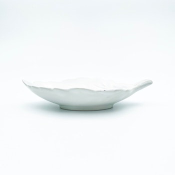 Vit lövskål - Arthur Percy, Gefle porslinsfabrik