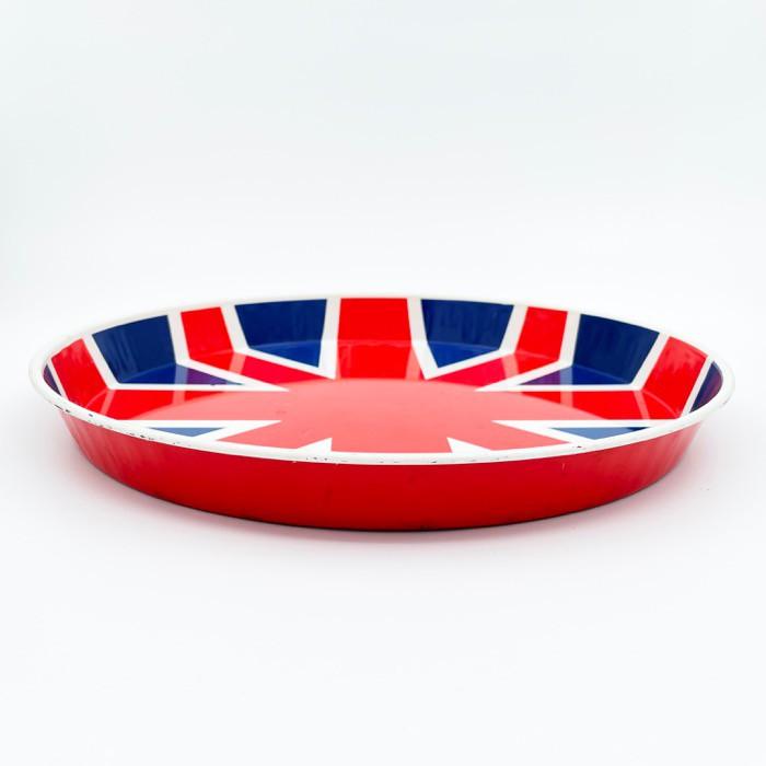 Bricka, plåt - Union Jack