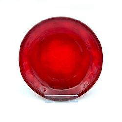 Röda glasassietter - Arcoroc, Frankrike