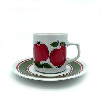 Mindre kaffekoppar - röda äpplen, Bavaria