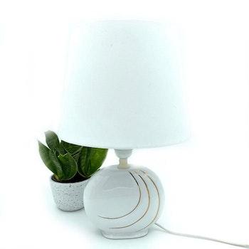 Bordslampa i porslin, 80-tal