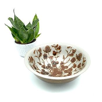 Keramikskål med klöver - Björstigs