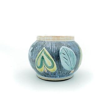 Tobaksburk - Laholm Keramik, märkt LL