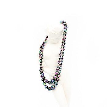 Vackert retro halsband med dubbla rader