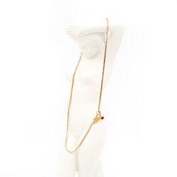 Retro halsband, brosch och ring