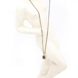 Retro halsband med hänge